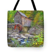 The Glade Grist Mill Tote Bag