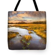 The Glades At Sunset Tote Bag