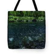 The Glimmer Of Maroon Lake Tote Bag