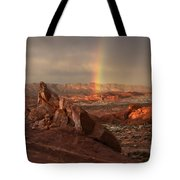 The Glory Of Sandstone Tote Bag