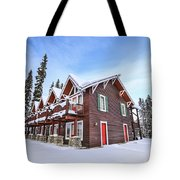 The Glory Of Winter's Chill Tote Bag