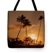 The Glow Of Sunset Tote Bag