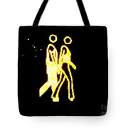 The Glowing Couple 2 Tote Bag