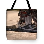 The Goalies Crease Tote Bag