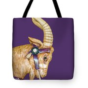 The Goat Who Likes Purple Tote Bag
