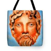 The God Jupiter Or Zeus.  Tote Bag