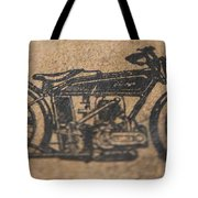 The Gold Medal Motorcycle 1925 Tote Bag