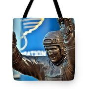 The Golden Brett Tote Bag