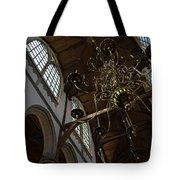 The Golden Chandelier  Tote Bag