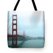 The Golden Gate Bridge And San Francisco Bay Tote Bag