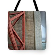 The Golden Gate - Fort Point View Tote Bag