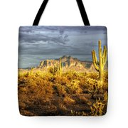 The Golden Glow  Tote Bag
