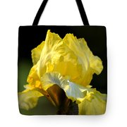 The Golden Iris Tote Bag