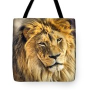 The Golden King 1 Tote Bag