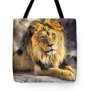 The Golden King 2 Tote Bag