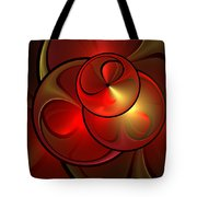 The Golden Light Is Shining Tote Bag