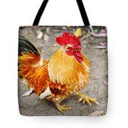 The Golden Rooster Tote Bag