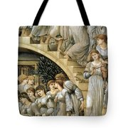 The Golden Stairs Tote Bag