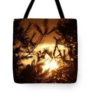 The Golden Sunset Tote Bag