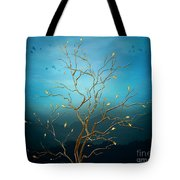 The Golden Tree Tote Bag by Bedros Awak