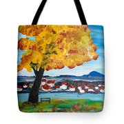 The Golden Tree Of Nish Tote Bag