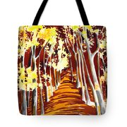 The Golden Way Tote Bag