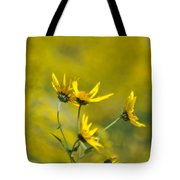 The Golden Wildflowers Tote Bag