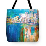 The Goldest Winter Tote Bag