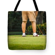 The Golfer Tote Bag