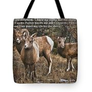 The Good Shepherd's Sheep Tote Bag