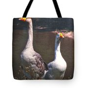 The Goose And The Gander Tote Bag