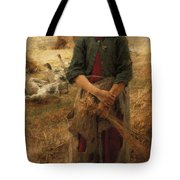 The Goose Girl Of Mezy Tote Bag