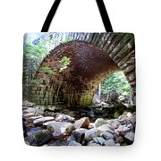 The Gorge Trail Stone Bridge Tote Bag