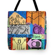 The Gospel Tote Bag by Anthony Falbo