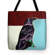 The Gossip - Raven Tote Bag