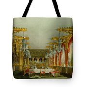 The Gothic Dining Room At Carlton House Tote Bag