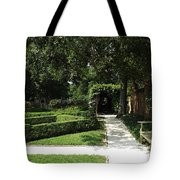 The Govenor's Gardens Tote Bag