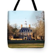 The Governor's Palace Tote Bag
