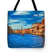 The Grand Canal Impasto Tote Bag