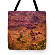 The Grand Canyon From Bright Angel Lodge Tote Bag