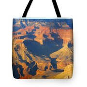 The Grand Canyon From Outer Space Tote Bag