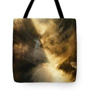 The Grand Canyon Of Yellowstone Tote Bag