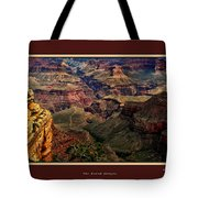The Grand Canyon Tote Bag by Tom Prendergast