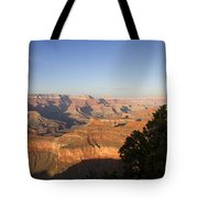 The Grand Canyon Towards Sunset Tote Bag