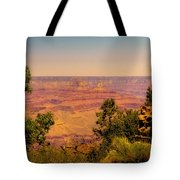 The Grand Canyon Vintage Americana Iv Tote Bag