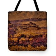 The Grand Canyon Vintage Americana Viii Tote Bag
