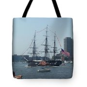 The Grand Old Dame Turns Tote Bag