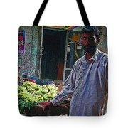 The Grapes Man Tote Bag