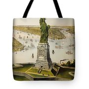 The Great Bartholdi Statue Tote Bag
