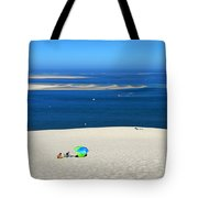 The Great Dune Of Pila In Arcachon Bay Tote Bag
